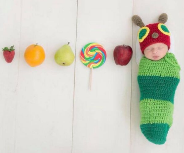 Hungry Caterpillar Costume from Bookish Etsy Costumes | bookriot.com
