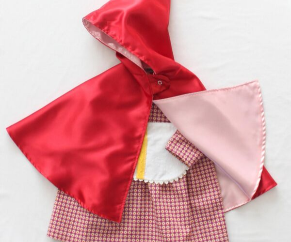 Little Red Riding Hood Costume from Bookish Etsy Costumes | bookriot.com