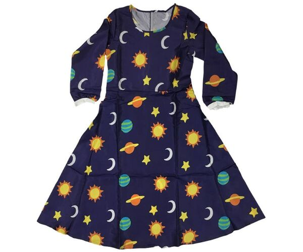 Ms. Frizzle Dress from Bookish Etsy Costumes | bookriot.com
