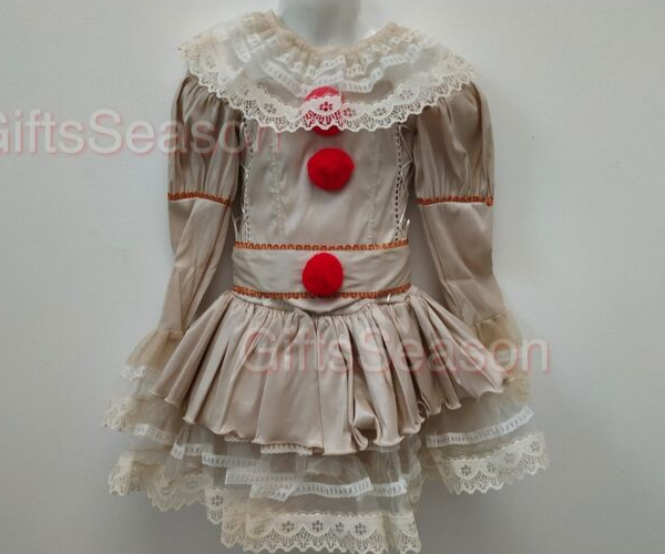 Pennywise Costume from Bookish Etsy Costumes | bookriot.com