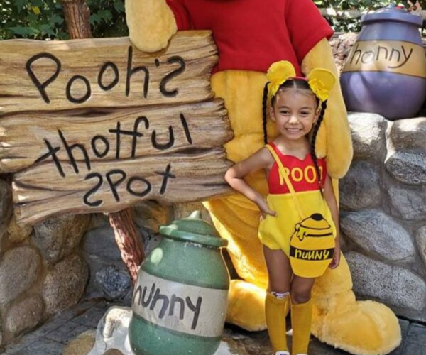 Winnie the Pooh Romper from Bookish Etsy Costumes | bookriot.com