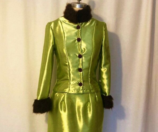 Rita Skeeter Dress from Bookish Etsy Costumes | bookriot.com
