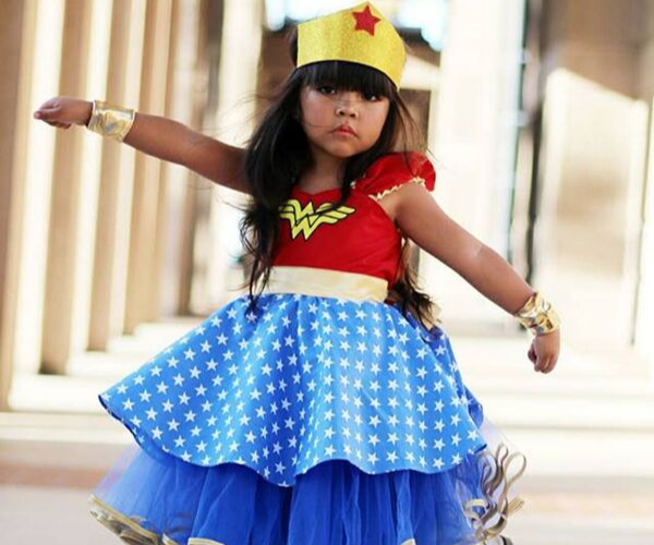 wonder Woman Costume from Bookish Etsy Costumes | bookriot.com