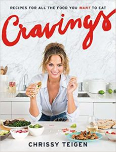 Cravings cookbook by Chrissy Tiger