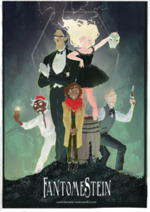 FantomeStein from SFF Webcomics for Halloween   bookriot.com