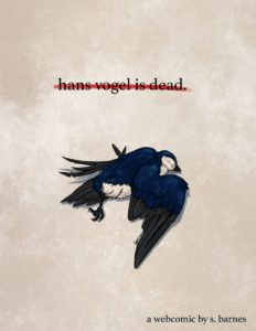 Hans Vogel is Dead from SFF Webcomics for Halloween | bookriot.com