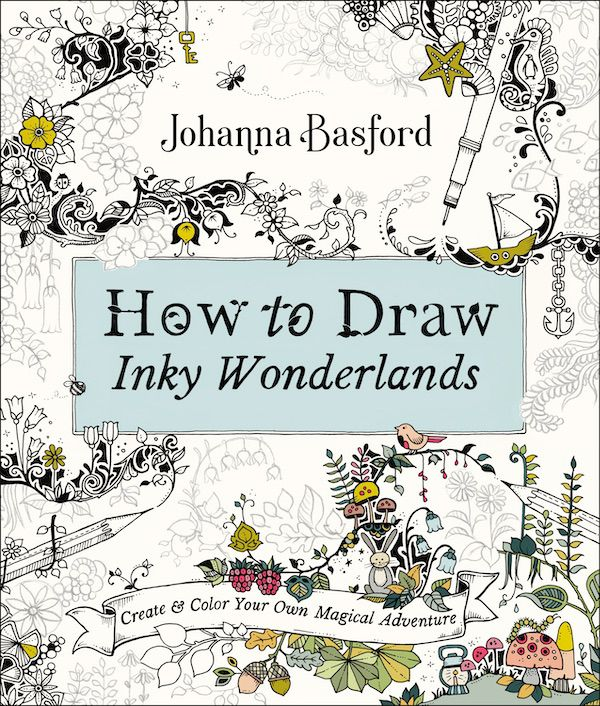 how to draw inky wonderlands cover
