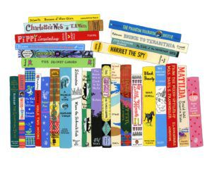 Tween Bookshelf print