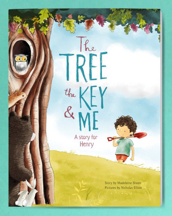 The Tree the Key and Me Personalized Kids Books