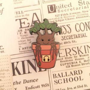 Mandrake Sprout Pin