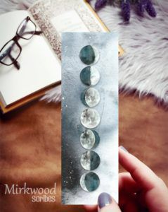 Moon Phases Bookmark