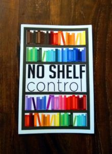 No Shelf Control Rainbow Magnet