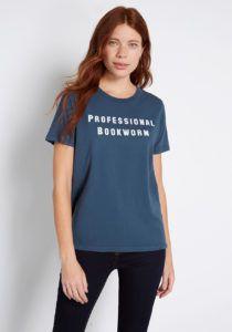 Professional Bookworm T-shirt