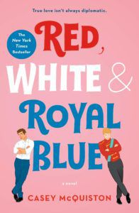 Red White & Royal Blue book cover