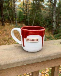 Redrum mug