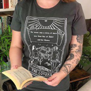 Romeo and Juliet Tarot Card Shirt