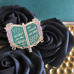 Sorcery of Thorns Quote Pin