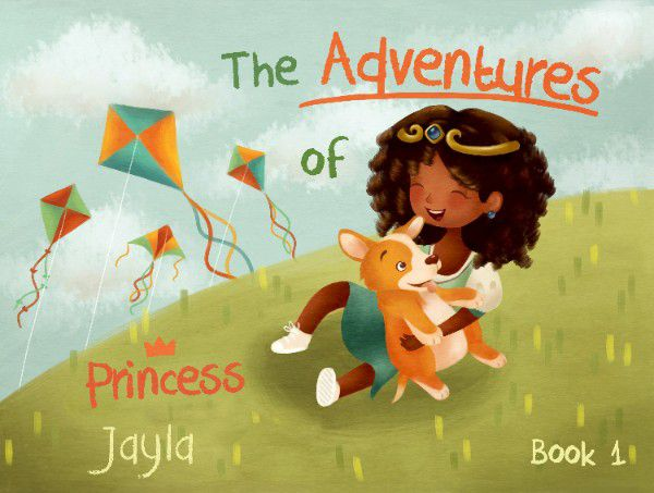 The Adventures of Princess Personalized Kids Book