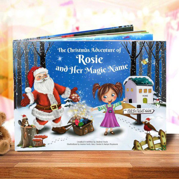The Christmas Adventure Personalized Kids Book