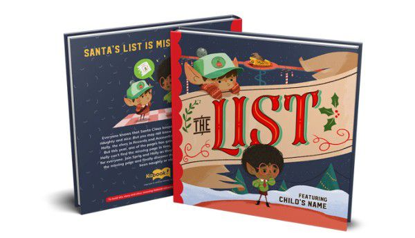 The List Personalized Kids Book