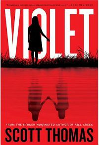 Violet by Scott Thomas cover Authors Like Stephen King