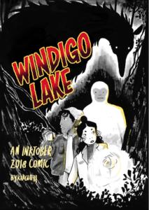 Windigo Lake from SFF Webcomics for Halloween | bookriot.com