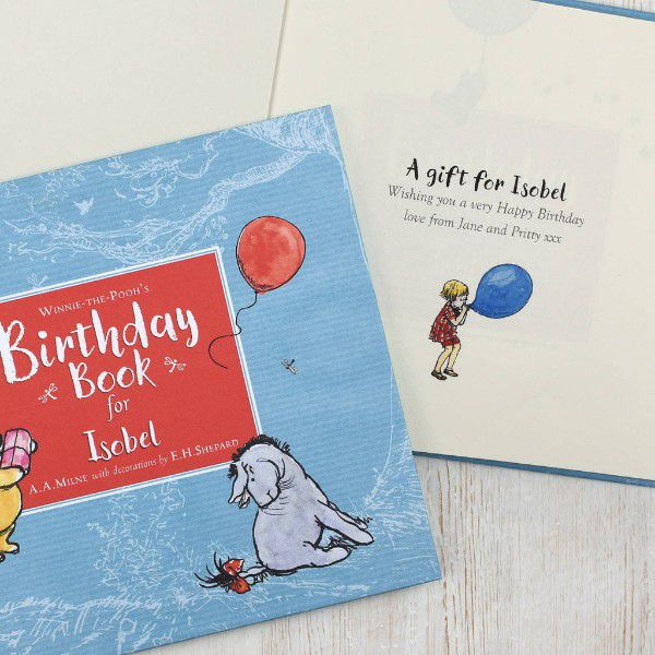 Winnie the Pooh Personalized Kids Book