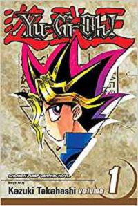 yugioh vol 1 by kazuki takahashi cover