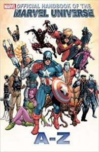 Official Handbook of the Marvel Universe A to Z Volume 2 Cover