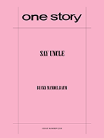 Cover of One Story literary magazine
