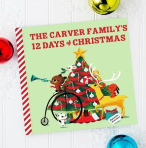 Personalized Family Christmas Book