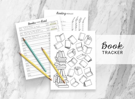 Printable Book Tracker