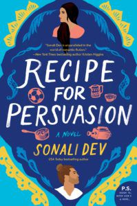 cover image of recipe for persuasion sonali dev