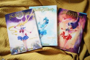 Sailor moon manga 1-3