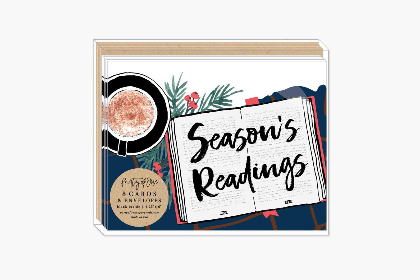 Season's Readings Cards