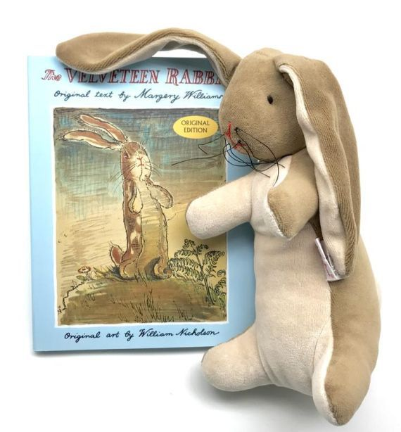 Velveteen Rabbit Soft Toy & Book Set