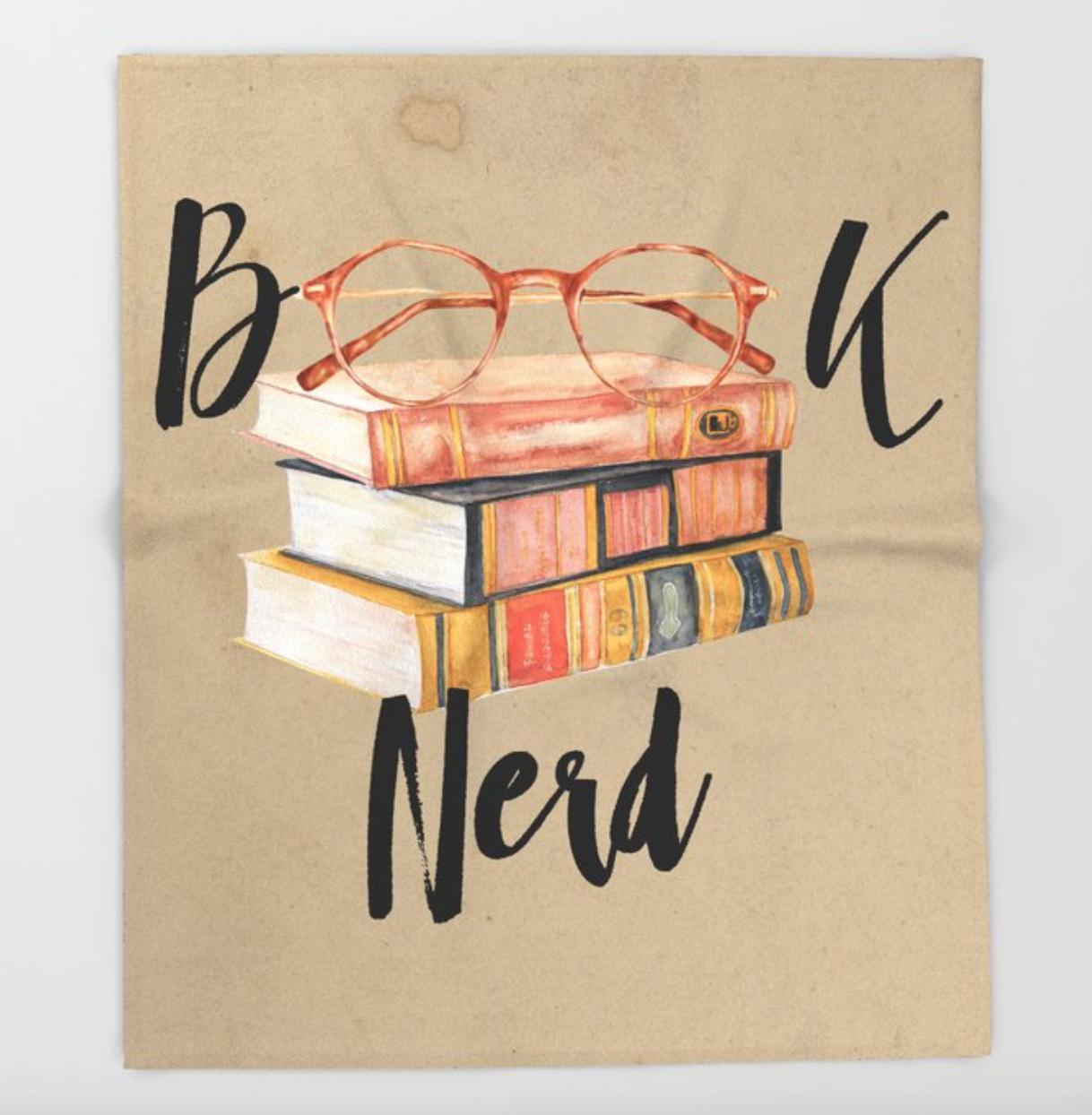 Book Nerd Blanket