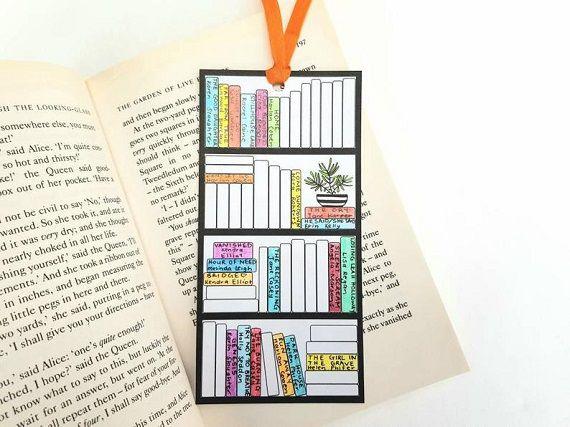 book tracker bookmark