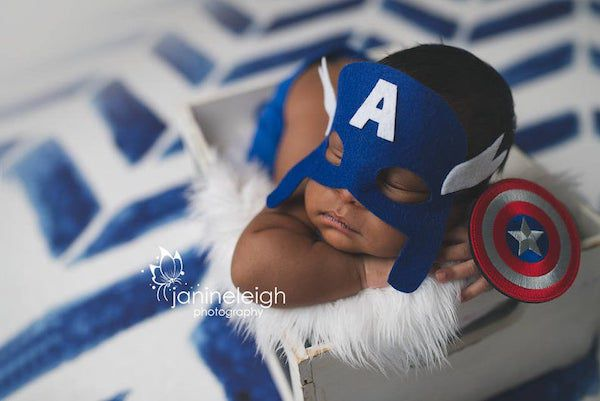 captain america baby outfit