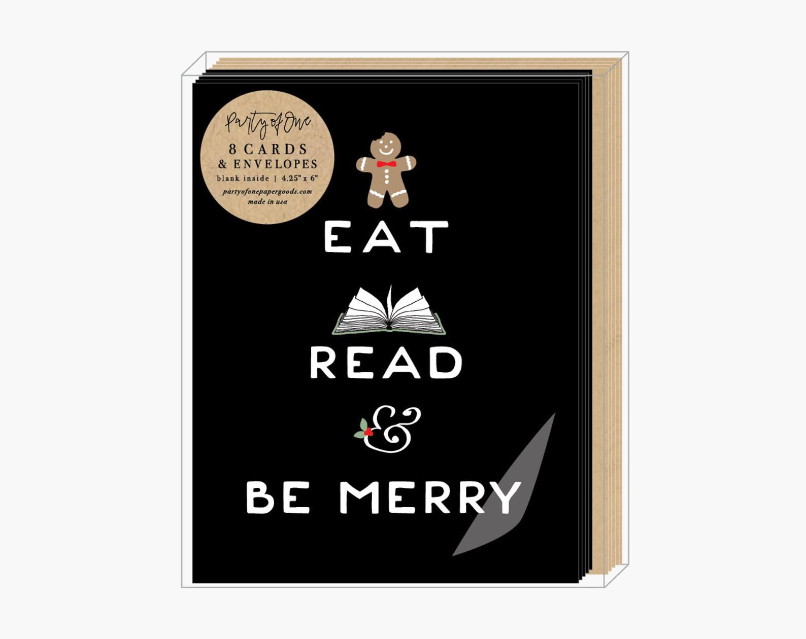 Eat, Read and Be Merry