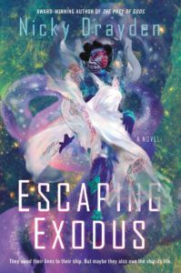 Escaping Exodus by Nicky Drayden book cover