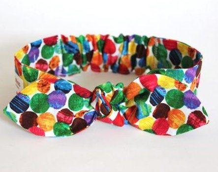 Hungry Caterpillar infant headband