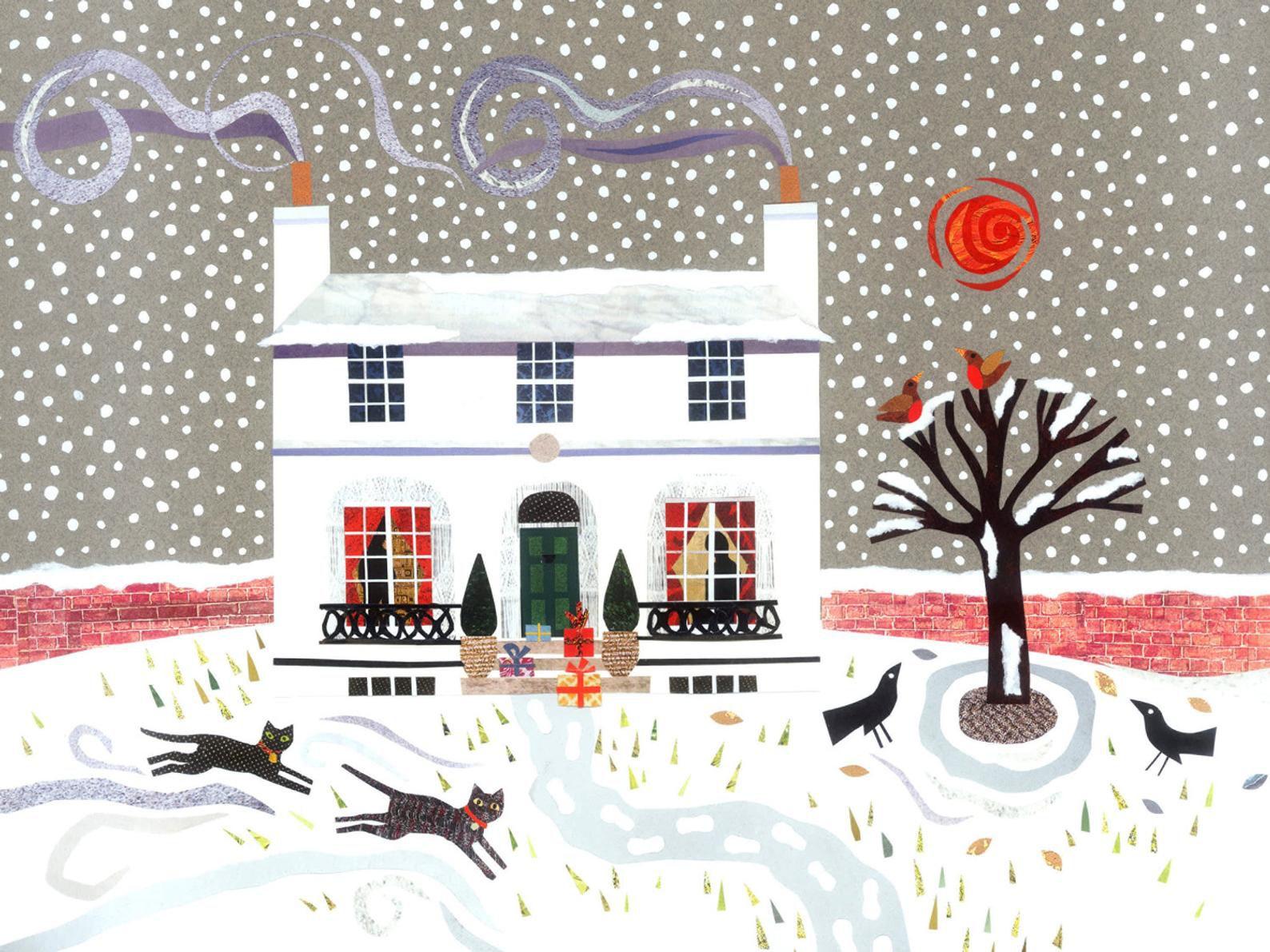 John Keats Christmas Card