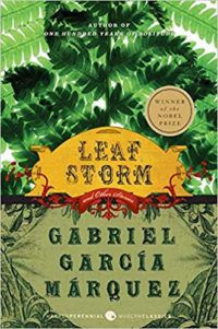 leaf storm and other stories by gabriel garcia marquez cover