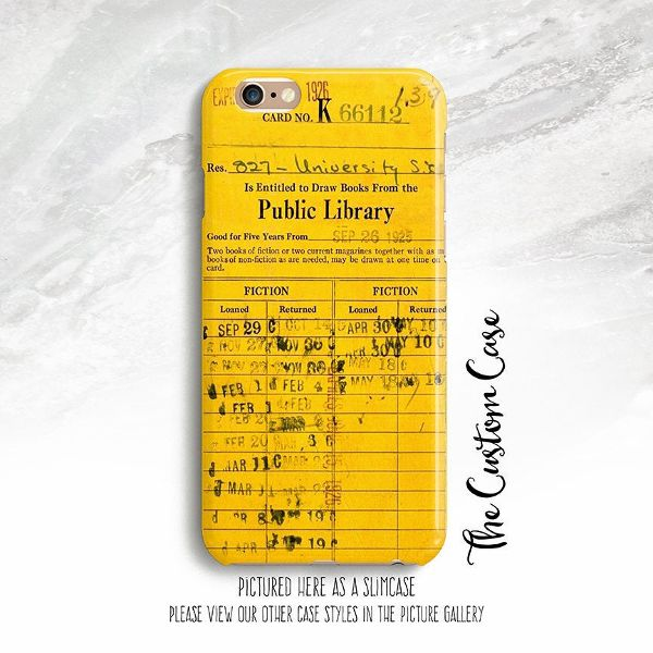 Library Card Phone Case