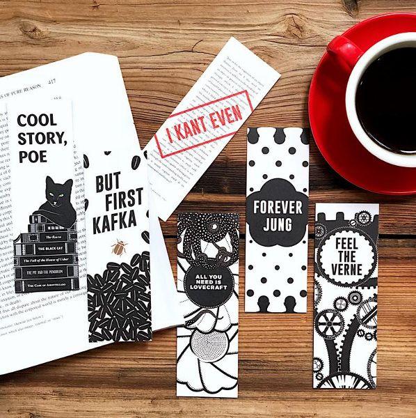 Literary Puns Bookmark Set
