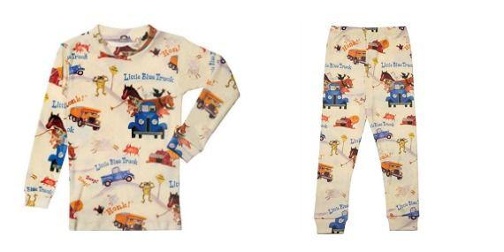 Little Blue Truck pajama set