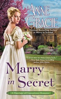 marry in secret by anne gracie cover estranged lovers romance novel
