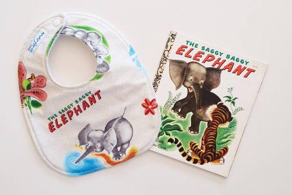 Saggy Baggy Elephant bib
