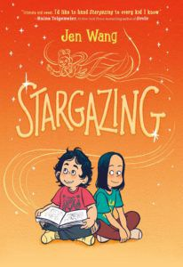 Stargazing book cover - books for 6th graders